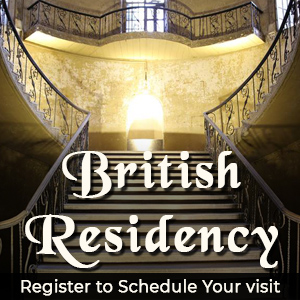 The British Residency Visit
